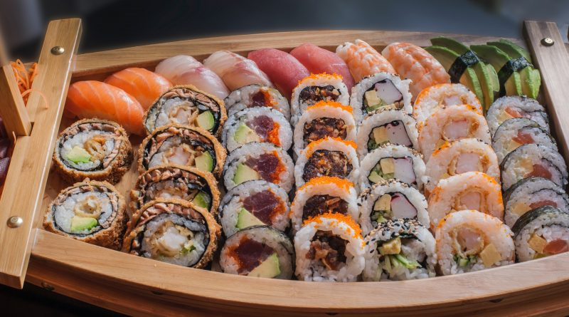 Sushi zdowozem – najlepsze jedzenie natelefon